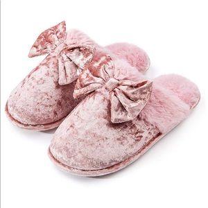 Womens-House-Slippers-Memory-Foam, Fluffy Velvet